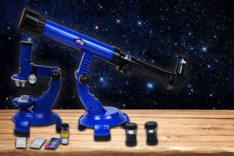 Funky Buys - Educational telescope and microscope science toy - Save 49%