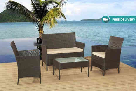 Rattan Trends - Rattan garden sofa set plus Delivery is included - Save 78%