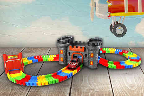 Toys Wizard - Car and castle play track set - Save 75%