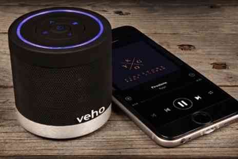 Groupon Goods Global GmbH - Veho 360 M4 Bluetooth Speaker - Save 67%