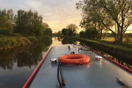 Lancashire Canal Cruises - 90 Minute Hotpot Canal Cruise for Two or Four - Save 50%