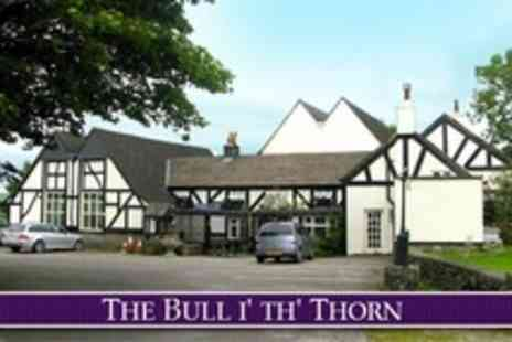 The Bull i th Thorn - In Peak District One Night Stay For Two With Breakfast - Save 66%