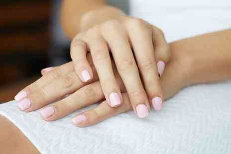 Aphrodite Hair & Beauty Studio - Gel Manicure, Pedicure or Both - Save 55%