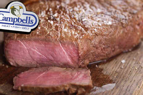 Campbells Prime Meat - 28pc Luxury Campbells Winter Steak Box - Save 49%