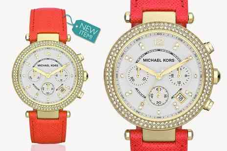 GK1706 - Ladies michael kors parker mk2297 chronograph watch - Save 56%