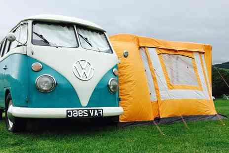 Nostalgic Campers - Two night VW campervan hire for up to two adults and one child - Save 0%