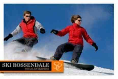 Ski Rossendale - Four Hour Ski or Snowboard Session For One Adult and Two Children - Save 60%