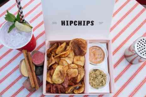 Hipchips - Medium or Large Chips with Dips and Drink for One or Two - Save 41%
