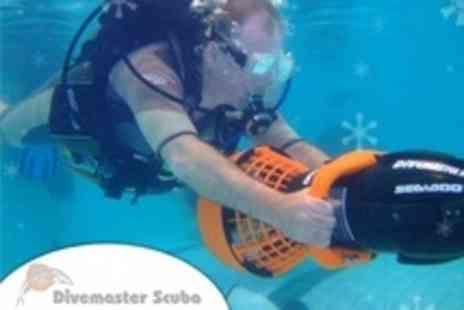 Divemaster Scuba - Scuba Lesson With Ride on Dive Propulsion Vehicle For Two - Save 75%