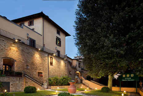 UNA Palazzo Mannaioni - Four Star Romantic 16th Century Tuscan Retreat For Two - Save 80%