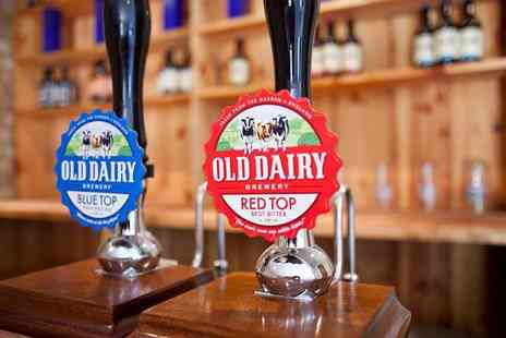 Old Dairy Brewer - Brewery tour with tasting for two or four - Save 30%