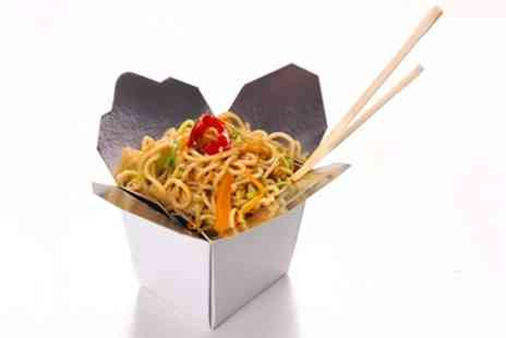 Chop and Wok - Wok Noodles, Rice or Fitness Box with a Can of Drink for Up to Four - Save 48%