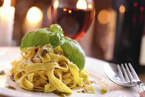 Da Vinci Restaurant - Two Course Italian Meal with Glass of Wine for Two or Four - Save 55%