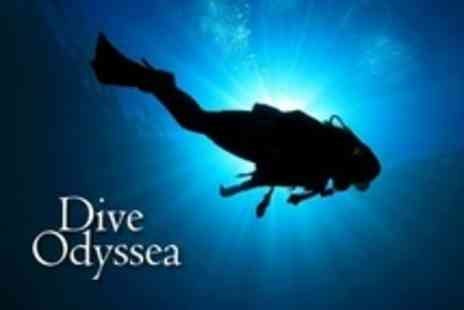 Dive Odyssea - Scuba Diving PADI Open Water Referral Course for Two - Save 70%