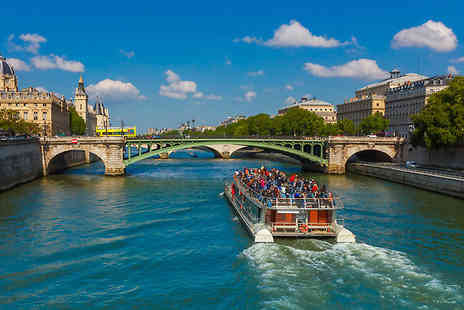 Crystal Travel - Eurostar Day Trip or 1 to 3 Night Hotel Stay Plus Sightseeing Cruise - Save 0%