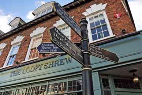 The Loopy Shrew - Boutique break with dinner - Save 38%