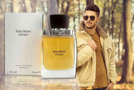 Deals Direct - 50ml bottle of Vera Wang for men EDT - Save 72%