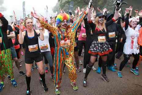 Human Race - Child or adult entry to the 2.5km or 5km Trick or Treat Run supporting Breast Cancer Care - Save 25%