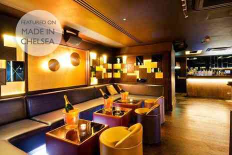 JuJu - 90 minutes of bottomless Prosecco and wine with Pan Asian food for 2 - Save 52%