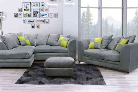 Groupon Goods Global GmbH - Cato Sofa Collection With Free Delivery - Save 56%