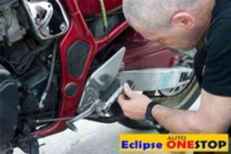 Eclipse One Stop - Motorcycle MOT With Oil and Tyre Pressure Check Plus Full Service - Save 51%
