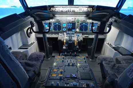 Jet Sim School - One Hour Boeing 737 Flight Simulator Experience for One - Save 60%