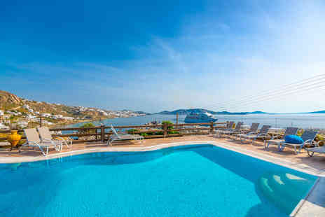 Paradision Hotel - Four Star Hilltop Hotel Above Tourlos Bay with Famed Sea Views For Two - Save 47%