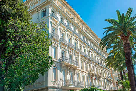 Hotel West End Nice - Four Star Historic Glamour on the Promenade des Anglais For Two - Save 70%