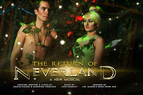Make Believe Productions - One, two or family tickets to The Return of Neverland - Save 45%