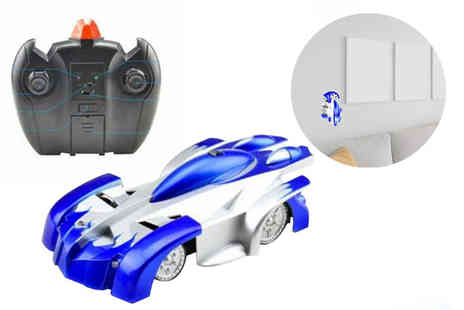 TLD Marketing - Wall climbing remote control car - Save 65%