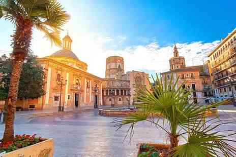 Great Pacific Travels - Two or three night 4 Star Valencia, Spain getaway including flights - Save 37%
