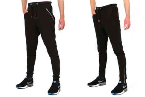 Groupon Goods Global GmbH - Mens Skinny Jogger Pants - Save 0%