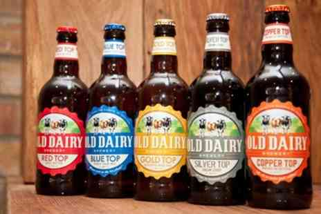 Old Dairy Brewery - Brewery Tour and Beer Tasting for Two or Four - Save 40%