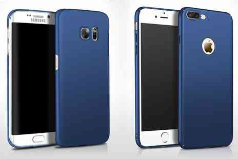 Groupon Goods Global GmbH - One or Two Super Thin Cases for iPhone or Samsung - Save 71%