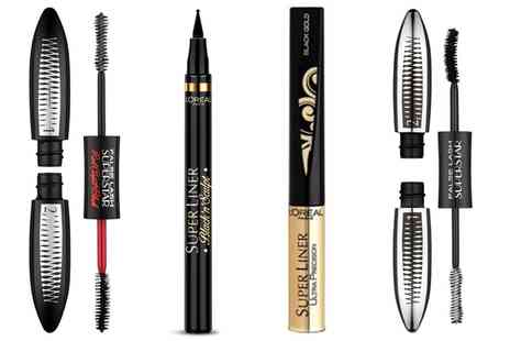 Groupon Goods Global GmbH - LOreal Paris Two Superliners and Mascara Set - Save 64%