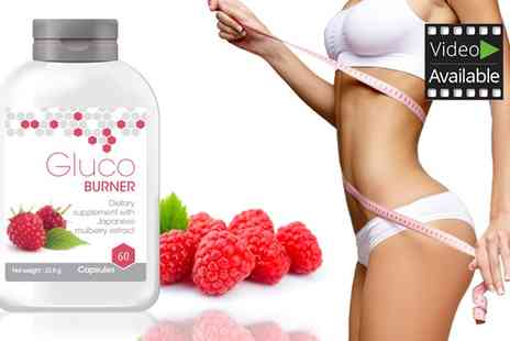 Groupon Goods Global GmbH - Glucoburner Dietary Supplement with Extract of Japanese Mulberry and Chromium - Save 66%