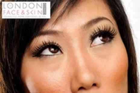 The London Face and Skin Clinic - Lash Perfect Eyelash Extensions - Save 70%