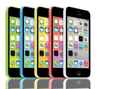 Renew Electronics - Refurbished 8GB Apple iPhone 5c or £109 for 16GB choose from five colours - Save 47%
