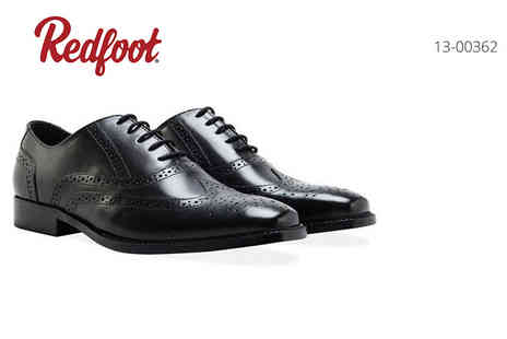 Shoeprimo - Pair of mens leather brogue shoes - Save 82%