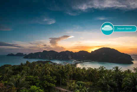 Great Pacific Travels - Nine night Phuket and Phi Phi Island, Thailand break with breakfast, massage and flights - Save 22%