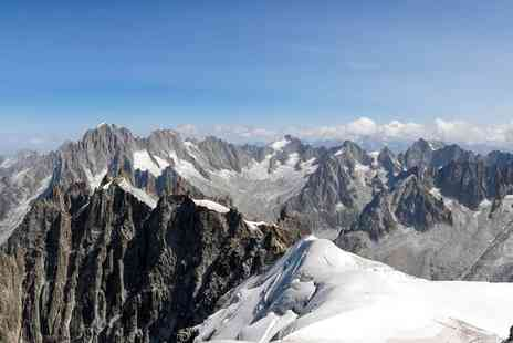 Great Pacific Travels - Two or three night Chamonix getaway including ski pass option, breakfast and flights - Save 59%