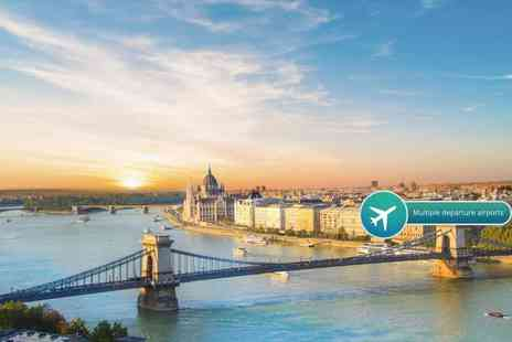 Bargain Late Holidays - Two or three night 4 Star Budapest break with flights - Save 52%