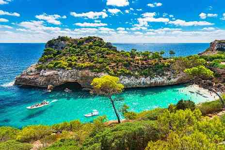 Crystal Travel - Three, five or seven night 3 Star all inclusive Majorca break with flights - Save 38%