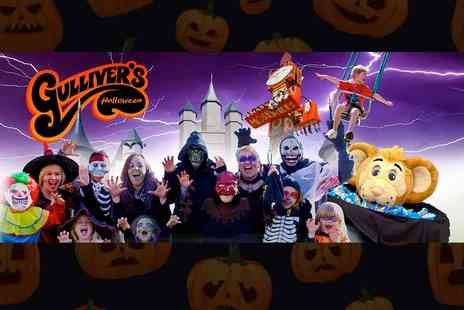 Gullivers - Entry to Gullivers Halloween Trick and Treat event held 21st to 29th October - Save 23%
