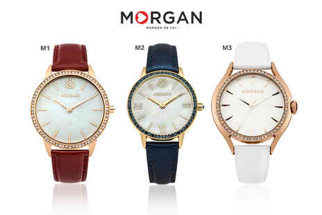 Brand Logic - Morgan watch choose from 10 designs - Save 73%