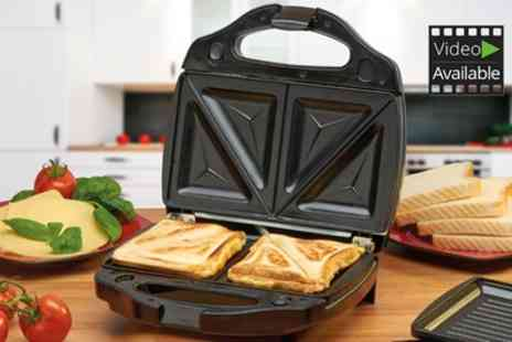 Groupon Goods Global GmbH - Cooks Professional Grill and Sandwich Toaster with Option for Waffle Plates - Save 60%