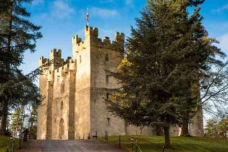 Langley Castle Hotel - One or Two Nights Stay for Two with Breakfast and Option for Tea, Dinner and Castle Tour - Save 46%