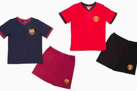 Groupon Goods Global GmbH - Boys Football Logo Short Pyjamas - Save 0%