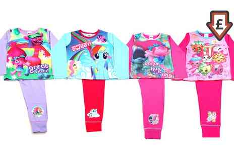 Groupon Goods Global GmbH - Girls Older Pyjamas in Choice of Design - Save 0%