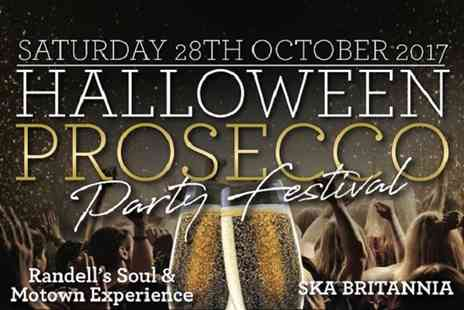 Prosecco Party Festival - Halloween Prosecco Party with Live Music on Saturday 28 October - Save 40%